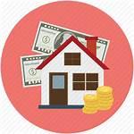 Property Estate Money Icon Amount Insurance Ask