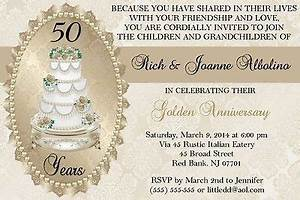 17 best images about anniversary on pinterest 50th With 50th wedding anniversary invitations walmart