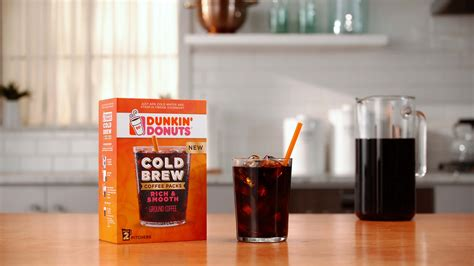 What's New: Cold Brew Coffee Packs   Dunkin' Donuts Coffee