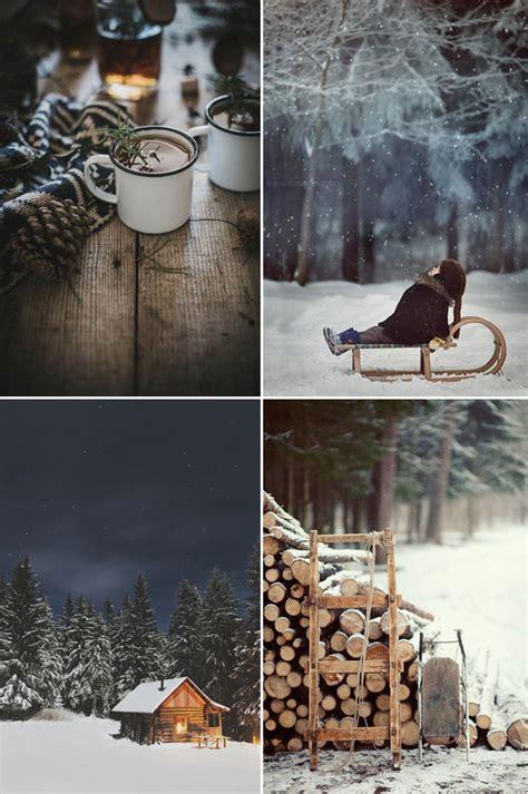 winter wonderland mood board  style files