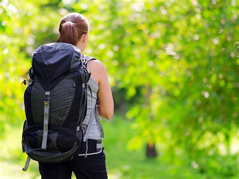 clean  travel backpack