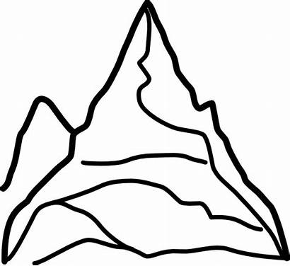 Mountains Chain Clip Mountain Clker Svg Cliparts