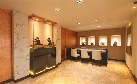 jewellery show room  shahen mistry interior designer