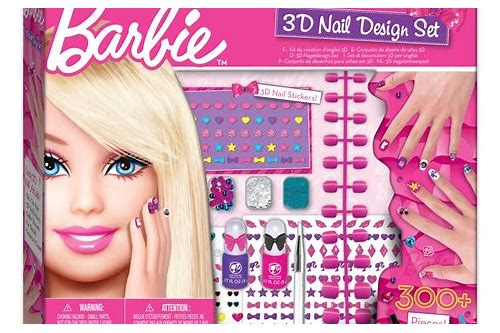 download barbie nail art games