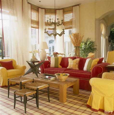 Yellow Living Room Design Ideas by Classic Interior Living Room Design With Yellow And