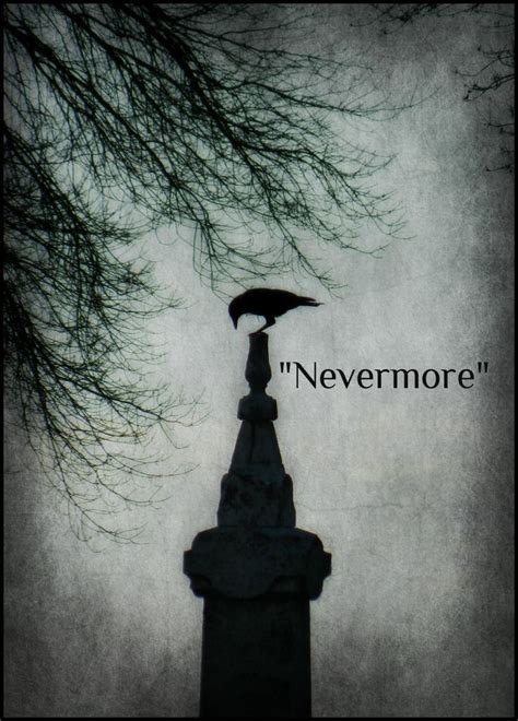 Famous Quotes From The Raven By Edgar Allen Poe Quotesgram
