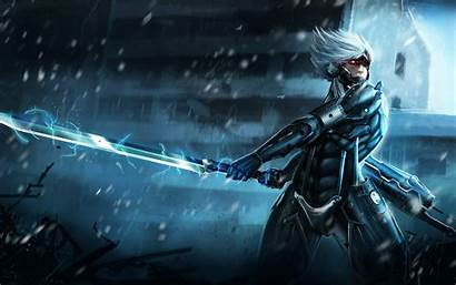 Raiden Gear Metal Rising Wallpapers