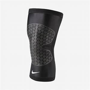 nike pro combat compression knee support black
