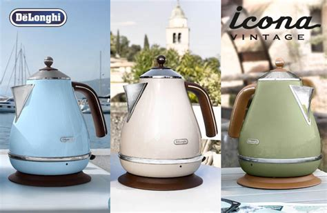 Delonghi Icon And Vintage Electric Kettle