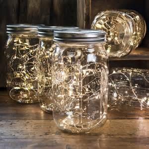 mason jar fairy lights wide mouth quart jars warm white lights set of 12 ebay