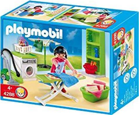 playmobil bureau de poste amazon com playmobil laundry room toys
