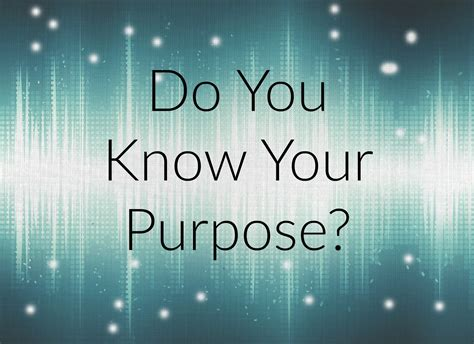 Do You Know Your Purpose? - tea with toni