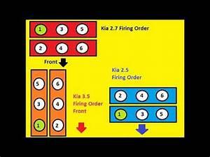 Kia V6 Firing Order 2 5 2 7 3 5
