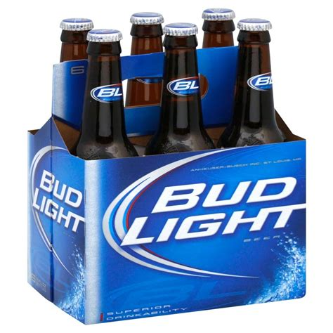 Bud Light 6 Pack by Upc 018200008337 Bud Light Bottles 12 Oz 6 Pk