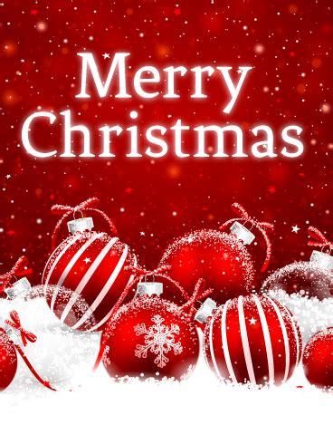powder snow christmas card birthday greeting cards