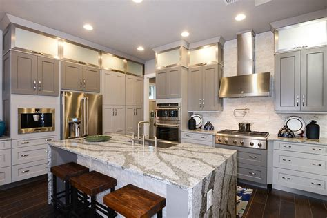 Modern Kitchen Ideas With White Cabinets - american kitchen images home design