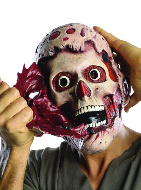 adults doubly terrifying freddy krueger mask  coolest
