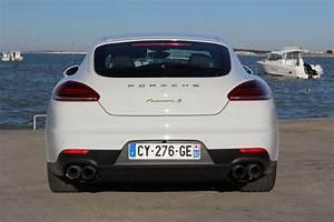 Porsche Panamera Hybride : essai porsche panamera restyl e l hybride le bon choix ~ Medecine-chirurgie-esthetiques.com Avis de Voitures