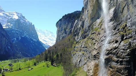 Lauterbrunnen Switzerland Drone Dji Mavic Pro 4k Youtube