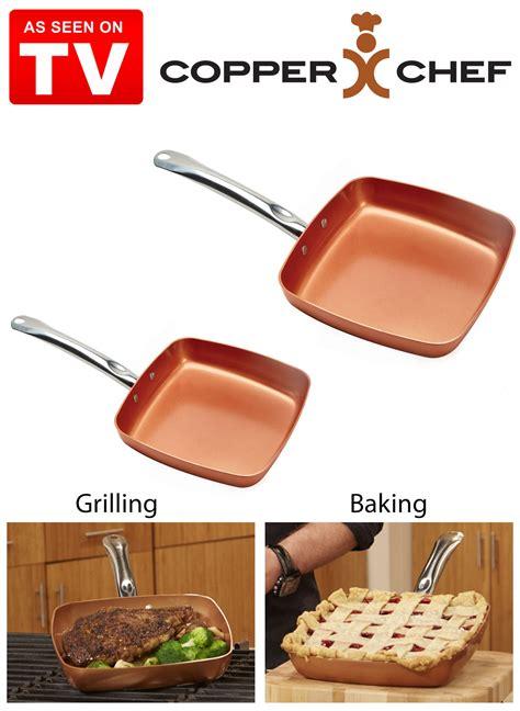 copper chef square pan set drleonardscom