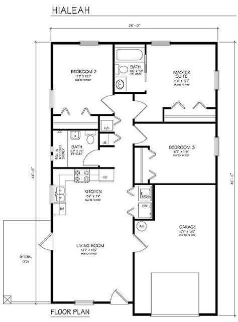 home building floor plans building plans single family hialeah