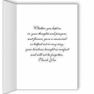 religious sympathy thank you note card dove jeanne With bereavement thank you letter