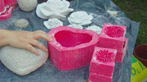 Beton Selbst Gießen beton giessen herzform aus silikon selbst machen