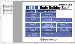 Hino Truck Workshop Manuals  2001-2019  Dvd