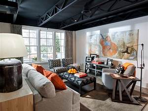 basement rec room pictures from hgtv smart home 2014 With room painting ideas for basement rec