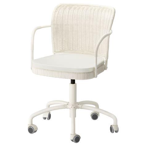 gregor swivel chair white blekinge white ikea