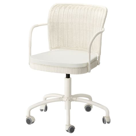 chaise blanche ikea gregor swivel chair white blekinge white ikea