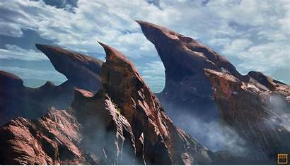 Pointing Salto Mountains Everyone Happy Artstation Wallpapers