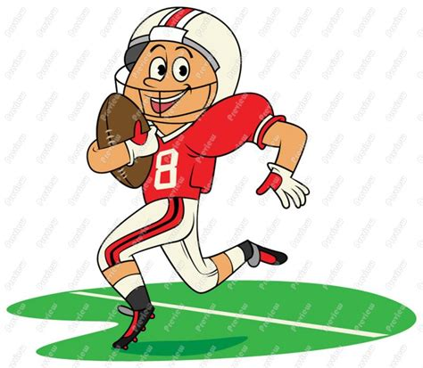 Cartoon Football Clipart 101 Clip Art