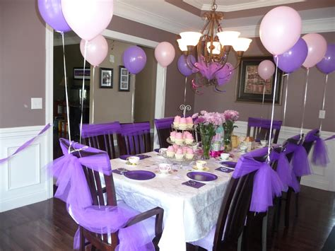 table decoration ideas for parties lavender table decorations trianglemommies throwing a