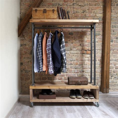 Wardrobe Shop by Nene Industrial Style Clothing Storage Unit By Cosywood