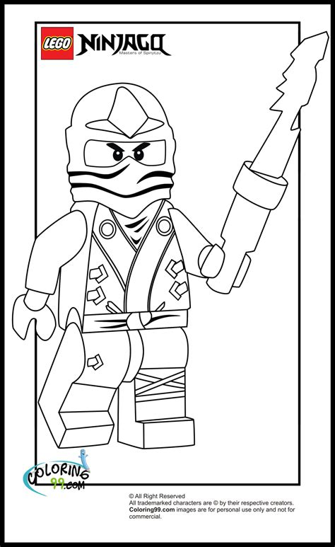 lego ninjago zane coloring pages minister coloring