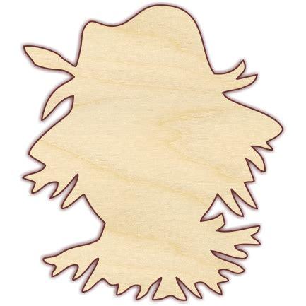 scarecrow wood scarecrow wooden cutouts scarecrow face