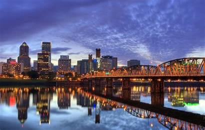 Portland Downtown Bridge Hawthorne Webranking Waterfront Guide