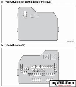 Toyota Highlander Ii Xu40 Fuse Box Diagrams  U0026 Schemes