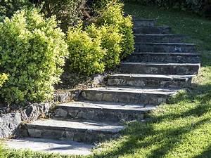 comment creer un escalier exterieur en pierre leroy merlin With creer un escalier exterieur