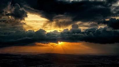 Dark Cloud Clouds Sky 1080 1920 Sun