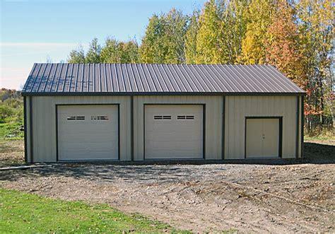 steel garage kit garage kits olympia steel buildings of canada