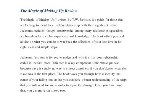 the magic of making up pdf download