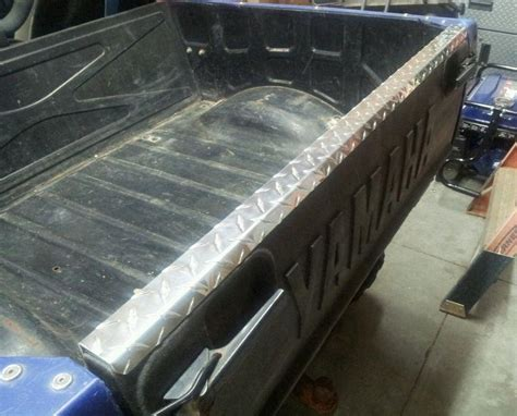 black plate bed rails buy yamaha rhino plate bed rails 3