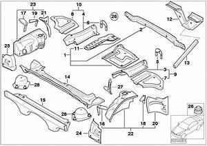Bmw Z4 Trunk Floor Right  Body  Rear