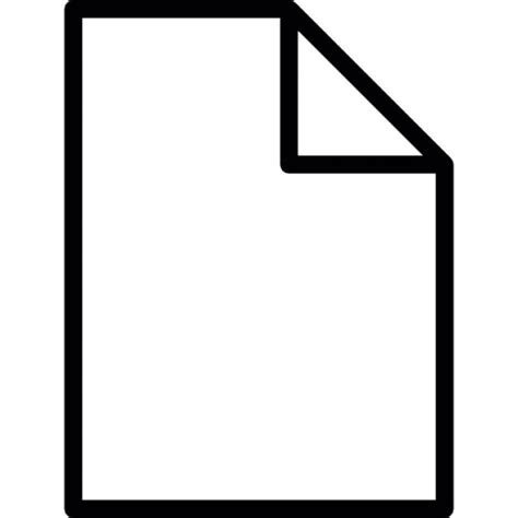 free document blank document icons free