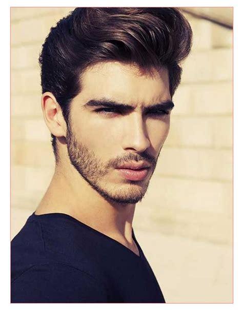 medium wavy hairstyles men fade haircut