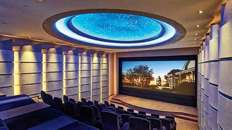Michael Bay's 40-Seat Digital Theater | Architectural Digest