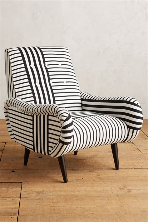 striped losange chair anthropologie