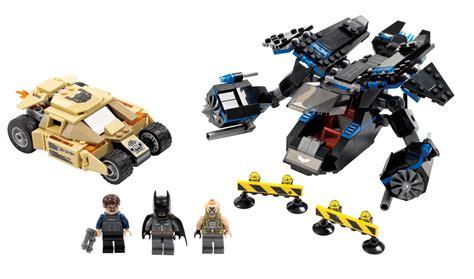 lego  batman  bat  bane tumbler chase
